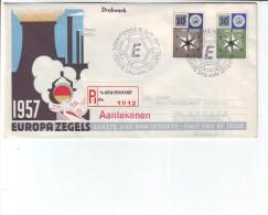 Niederlande - Beleg  Einschreiben R - Brief ´s-Gravenhage Nach Aachen 16.9.1957