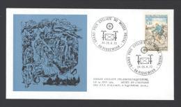 Lettre Avec CàD RIQUEWIHR Grand Prix Cycliste Du Musée Postal 24-25/06/1972 - Réf A1763 - Storia Postale