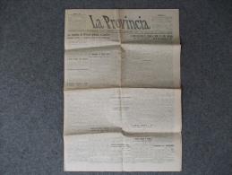 """7081bis-GIORNALE-""""LA PROVINCIA""""-CREMONA-NUMERO 47 DEL 26 FEBBRAIO 1920 - Libri, Riviste, Fumetti"""