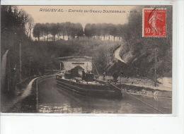 RIQUEVAL - Entrée Du Grand Souterrain - Très Bon état - France