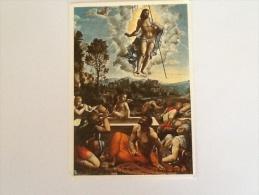 LA RISURREZIONE DI GIOVANNI ANTONIO BAZZI DETTO SODOMA NON VIAGGIATA - Quadri, Vetrate E Statue