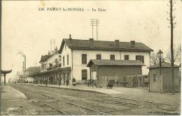CPA  PARAY LE MONIAL, La Gare  7837 - Paray Le Monial