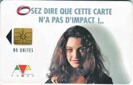 **Télécarte à Puce Du MAROC  80Units Vide Qualité TTB**** - Marokko