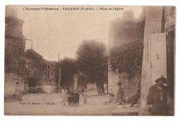 TALLENDE(Puy-de-Dome) - Proximité De Clermont-Ferrand -  Place De L´Eglise - Animée - Enfants, Landeau, Chiens - Autres Communes