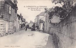 41 - CHENEHUTTE-les-TUFFEAUX Par Gennes (M.et L.) : Vue Du Bourg - Andere Gemeenten