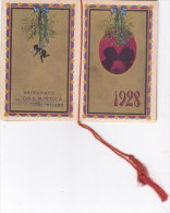 """CALENDARIETTO """"FRASI AMOROSE"""" PROFUMATO ALL'""""ORA MISTICA"""" TOSI MILANO ILLUSTRATORE BUSI  1928 -2-  0882 -17469-468 - Calendars"""