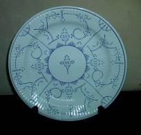 Copenhague - Assiette - Bord - Plate - Diam. 24 Cm. - Boch (BEL)
