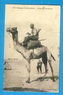 CP, Afrique Occidentale - Méhariste Soudanais, Voyagé En 1933 - Sudan