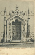 PORTUGAL - SANTAREM - PORTICO DA IGREJA DE MARVILLA - 1900 PC. - Santarem