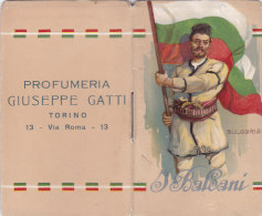 "CALENDARIETTO ""I BALCANI"" PROFUMERIA GIUSEPPE GATTI TORINO VIA ROMA 13   1914 -2-  0882 -17481-480 - Petit Format : 1901-20"