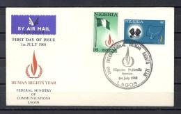 AFRICA - NIGERIA - INTERESTING FDC 1968 Year ! - D 741. - Nigeria (1961-...)