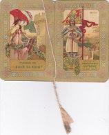 """CALENDARIETTO  """"RODI""""  PROFUMATO ALLA"""" ROSA DI RODI"""" PROFUMERIA SATININE MILANO  1916 -2-  0882 -17489-488 - Petit Format : 1901-20"""