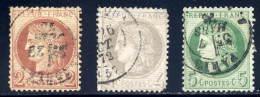 Framce  SC# 51-3  Used  Sound - 1871-1875 Ceres