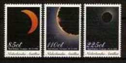 Antillen, Serie 3, Year 1998, NVPH 1201-1303, Total Eclipse Curacao, MNH ** (08) - Astrologie