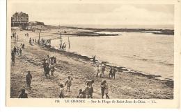 LE CROISIC Sur La Plage De Saint Jean De Dieu Ll  21 - Le Croisic