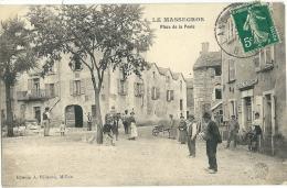 Le Massegros , Place De La Poste - Sin Clasificación