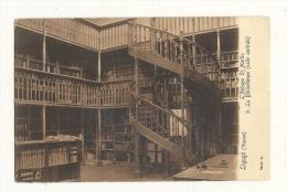 Cp, 86, Ligugé, L'Abbaye St-Martin, La Bibliothèque, Salle Centrale, écrite - Francia