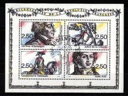 40-770 // FR. - 1991  200 YEARS  -FRENCH REVOLUTION  Bl Mi 11O - Blocks & Kleinbögen