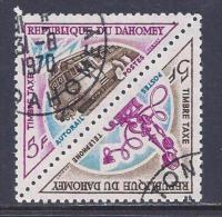 Benin(Dahomey), Scott # J39a Used Postage Due, 1967 - Bénin – Dahomey (1960-...)