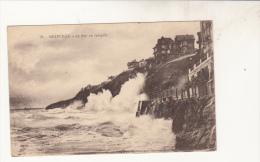 Granville La Mer En Tempete - Granville