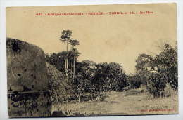 Guinée--TIMBO--Une Rue  N° 631  éd Générale Fortier--belle Carte - Guinée
