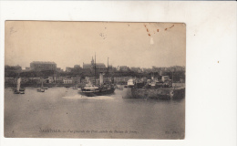 Granville Vue Générale Du Port , Entrée Du Bateau De Jersey - Granville