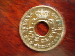 BRITISH EAST AFRICA USED ONE CENT COIN BRONZE Of 1955. - East Africa & Uganda Protectorates