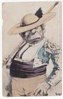 España Tarjeta Postal De Ilustrador Torero El Verdugo Artist Signed Vintage Original Postcard Cpa Ak (W3_1794) - Ilustradores & Fotógrafos