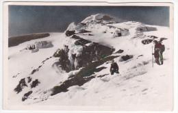 Ecuador Tungurahua Volcano Mountain Climbing Photo Tarjeta Postal  Vintage Original Postcard Cpa Ak (W3_1797) - Ecuador