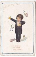 Artist Signed Bertiglia Il Tenore Music Opera Tarjeta Postal  Vintage Original Postcard Cpa Ak (W3_1799) - Bertiglia, A.