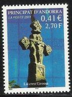 ANDORRE 2001 N° 554, La Croix - Frans-Andorra