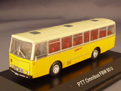 Arwico 02600, FBW 50U-55L Postauto PTT (CH), 1:87 - Véhicules Routiers