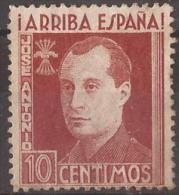 FET34-LM093TLN.Espagne.Sp Ain.España.JOSE ANTONIO PRIMO DE RIBERA.Falange.1938. (Galvez 34)en Nuevo.RARO - Emisiones Nacionalistas