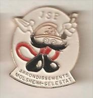 JEUNES SAPEURS-POMPIERS MOLSHEIM-SELESTAT [A005] - Firemen