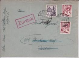 ZOF -  1948 -  BADEN - ENVELOPPE  De GUTACH  à MINDEN - Zona Francesa