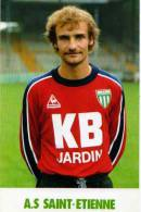 Football A.S St Etienne Eric Solignac, Pub KB Jardin - Football