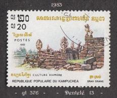 1983 - Asie - Kampuchéa - Culture Khmère - 20 C. Srah Srang - - Kampuchea