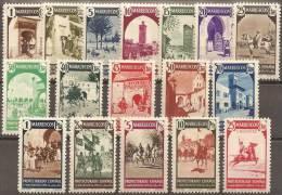 ESPAÑA/MARRUECOS 1940 - Edifil #200/16 - MLH * - Marocco Spagnolo
