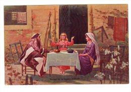 Repas De La Sainte Famille   Prieur Et Dubois Puteaux    N°1  Non Circulé NEUF - Historical Famous People