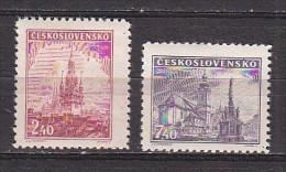 L2981 - TCHECOSLOVAQUIE Yv N°429/30 * - Unused Stamps