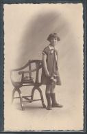 - CPA BELGIQUE - Portrait De Jeune Fille - CARTE PHOTO - Belgique
