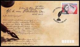 Indonesia 2013 100 Years Of The Article Of Ki Hadjar Dewantara :: Als  Ik Een Nederlander Was  :FDC - Indonesië