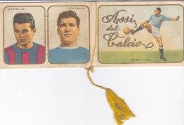 """CALENDARIETTO  """"ASSI DEL CALCIO """" SPORT CALCIO   1958 -2-  0882 -17494-495.....499 - Calendari"""