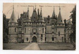 CPA 92 Environs De MEULAN VIGNY Le Château Vu De Face - Andere Gemeenten