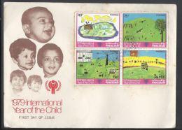 Pakistan Fdc 1979 International Year Of The Child