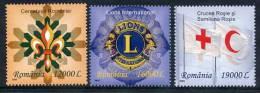 ROMANIA 2004 International Organisations.  Michel 5885-87 - 1948-.... Républiques