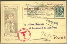 BRUXELLES / FERNAND LAUWERYNS EDITEUR DE MUSIQUE - Non Classificati