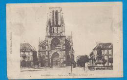 PHALSBOURG   L'église Et Le Monument Du Général Lobau  écrite En 1918 - Phalsbourg
