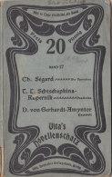 Vita´s Novellenschatz Band 17, Um 1905, Jugendstil-Einband; Die Operation, Daschenka, Patschuli - Bücher, Zeitschriften, Comics