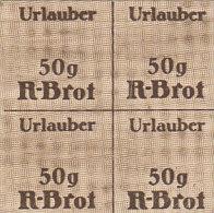 Lebensmittelkarte Für Urlauber Für 200 Gramm Brot - Alte Papiere